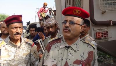 """محور تعز يعتبر احتجاز """"المجيدي"""" تحدٍ لاتفاق الرياض ويطالب الحكومة باتخاذ إجراءات"""