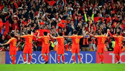 الصين تبلغ ربع النهائي في كأس آسيا بعد تخطي تايلاند