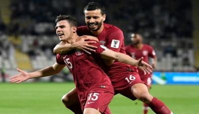 قطر تهزم العراق بهدف وتبلغ ربع نهائي كأس آسيا