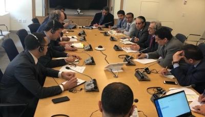 """""""معياد"""" يبحث مع صندوق النقد الدولي الصعوبات التي تواجه القطاع المصرفي باليمن"""