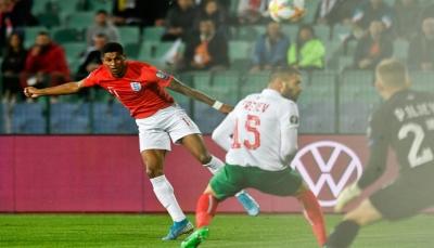 انجلترا تسحق بلغاريا وتدنو من النهائيات في تصفيات يورو 2020