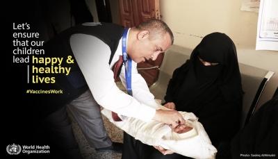 الأمم المتحدة: فيروس شلل الأطفال يعاود الظهور في اليمن