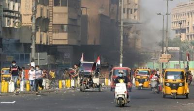 الاحتجاجات تتواصل في العراق بالتزامن مع مساعي أممية لإيجاد حل للأزمة