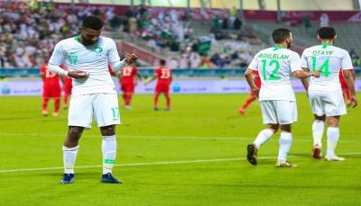 السعودية تهزم عُمان وتتأهل إلى نصف النهائي لملاقاة قطر