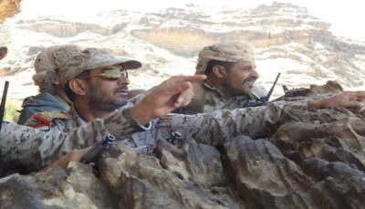 """عمليات الجيش تدعو المقاتلين في جبهة """"نهم"""" للتقدم نحو العاصمة صنعاء"""