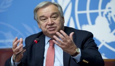 غوتيريش يؤكد استمرار الجهود الأممية لإنهاء الصراع في اليمن