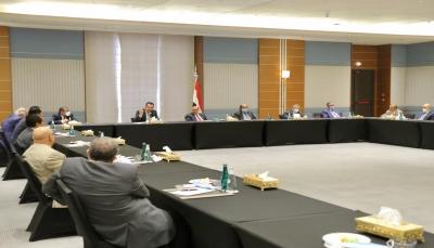 النواب ومستشارو الرئيس يؤكدون على أهمية الالتزام بتنفيذ آلية تسريع اتفاق الرياض في مدتها المحددة