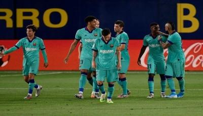 هل أصبح تركيز برشلونة على دوري الأبطال فقط؟