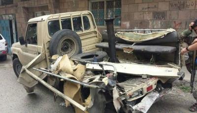 مقتل جنديين وإصابة آخرون بانفجار عبوة ناسفة في تعز