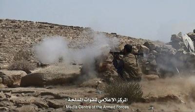 صنعاء: قتلى وجرحى من مليشيات الحوثي وتدمير 3 أطقم في جبهة نهم