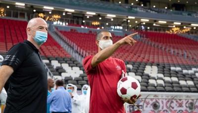 إنفانتينويشيد باستعدادات قطر لمونديال 2022