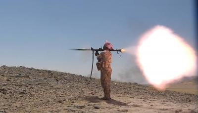 """صعدة: قتلى وجرحى من الحوثيين في قصف مدفعي وغارات جوية بمديرية """"باقم"""""""