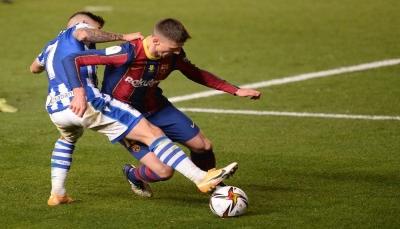 ركلات الترجيح تقود برشلونة إلى نهائي كأس السوبر الإسباني
