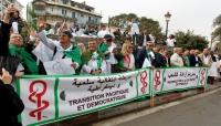 تظاهرة للطلاب وقطاع الصحة في الجزائر ضد بقاء بوتفليقة في الحكم