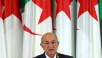 """الرئيس الجزائري يدعو إلى التحضير لاستفتاء تعديل الدستور ويُحذر من """"ثورة مضادة"""""""
