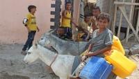 المصاعب الاقتصادية وأزمة الوقود تعيد الحمير للخدمة في شوارع عدن