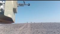 """الجيش يخوض معارك عنيفة بالقرب من """"مفرق الجوف"""" وجبهات نهم شرق صنعاء"""