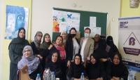 """تكتل النساء الحزبيات يلتقي عدد من المسؤولين الأممين بـ""""عدن"""""""