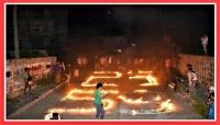 """""""صنعاء مُعتمة بألوان لا تُشبهها"""".. الاحتفالات بثورة 26سبتمبر تكسر قيود الحوثيين بمناطق سيطرتهم"""