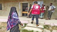 الصليب الأحمر يوزع مساعدات نقدية لـ 1252 أسرة متضررة في تعز
